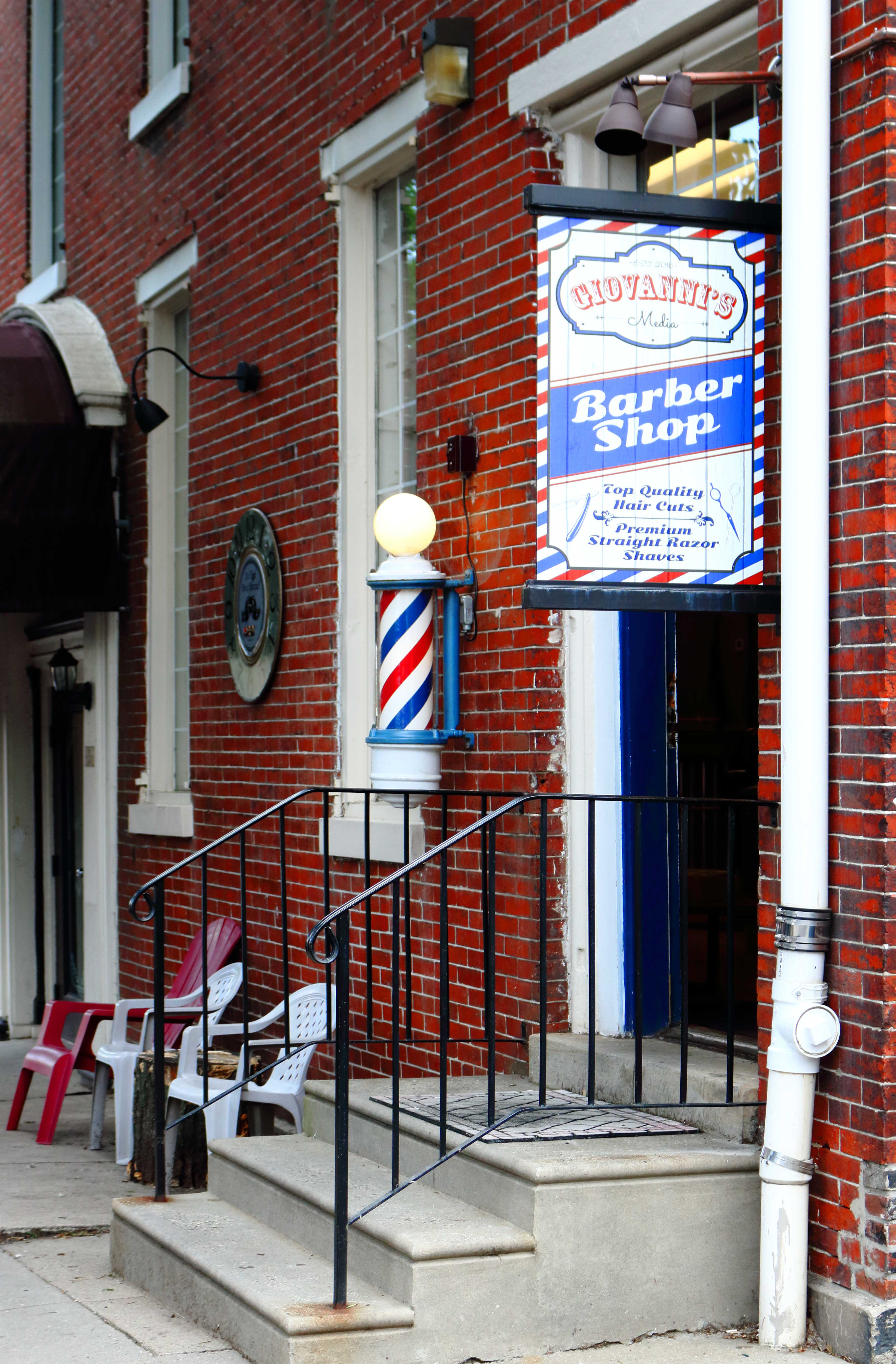 Giovannis barbershop at giovannis media barber shop our mission is to provide the highest quality service while successfully satisfying the needs of our clients winobraniefo Gallery